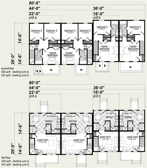 quad plex plans quad plex plans isbu quad r one studio architecture