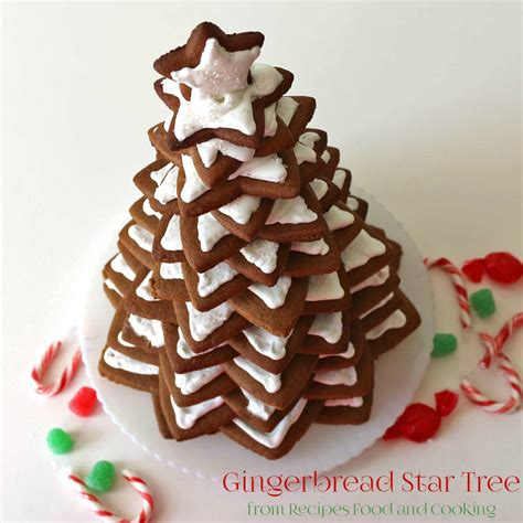 gingerbread christmas tree recipes food and cooking