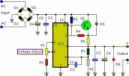 3 30v 3a adjustable regulated dc power supply eeweb