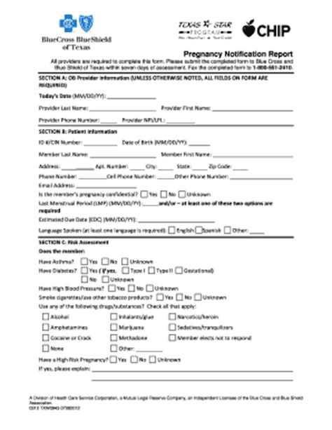 Record Of Divorce Or Annulment Form Michigan Blank Pregnancy Notification Form Fill Printable Fillable Blank Pdffiller