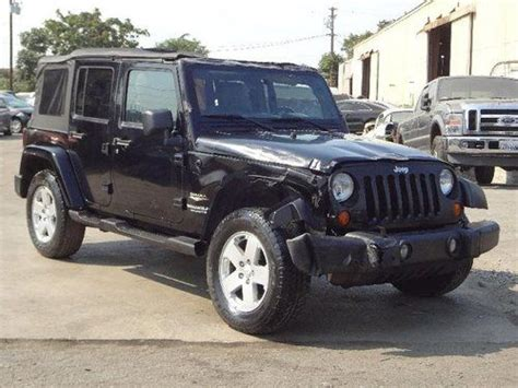 Jeep Junkyard California Buy Used 2007 Jeep Wrangler Unlimited Damaged