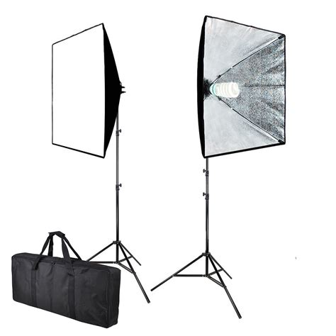 Softbox Lighting Kit 1000w photo continuous softbox lighting kit