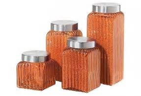Colored Kitchen Canisters by Colored Glass Kitchen Canisters Foter