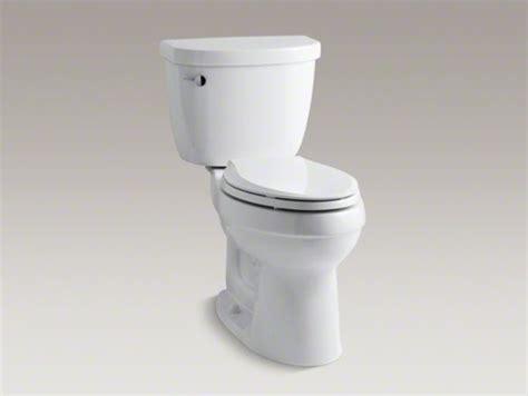 cimarron comfort height toilet kohler cimarron r comfort height r two piece elongated 1