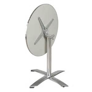 table ronde en aluminium mobeventpro mobilier chr