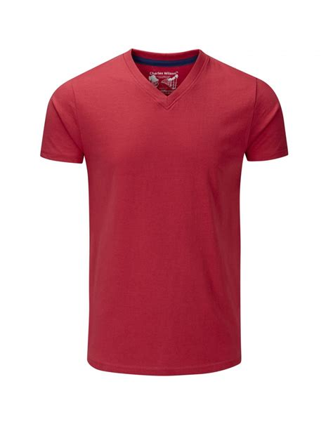 V Neck T Shirts plain v neck t shirt s t shirts from charles wilson