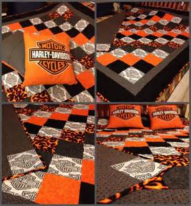 17 best images about harley davidson quilts on