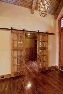 Interior Sliding Barn Doors For Homes Interior Sliding Doors Living Room Traditional With Bay Window Brown Ceiling
