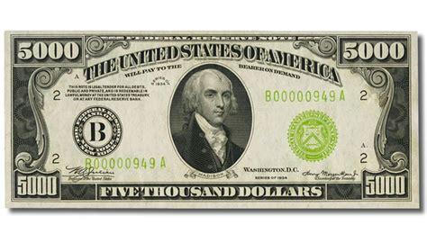 imagenes ocultas en los dolares billetes de d 243 lar de 500 1000 5 000 10 000 y 100
