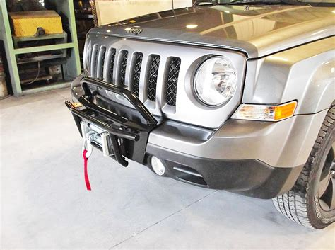 Jeep Patriot Light Bar by Jeep Patriot Bumper Winch Mount And Bumpers For Jeep Patriot