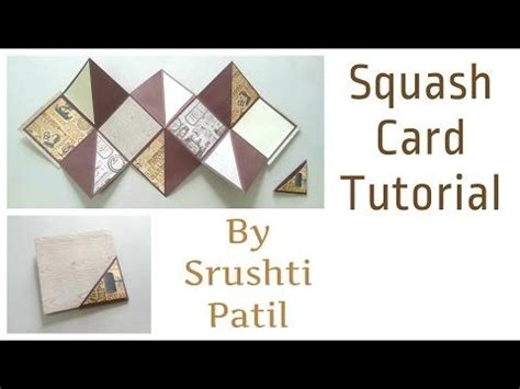 squash card template best 25 box cards tutorial ideas on pop up