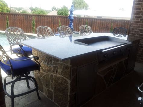 Backyard Hibachi Grill Outdoor Kitchen Hibachi Grill Backyard Landscaping Photo