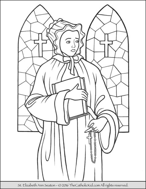 coloring pages elizabeth elizabeth archives the catholic kid catholic coloring