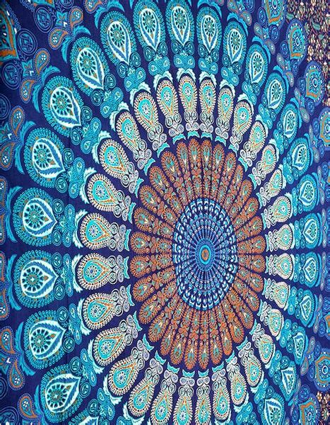 cheap wall tapestries blue mandala tapestries cheap indian tapestry bedding