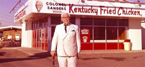 biography of kfc owner story of kfc founder colonel sanders was 62 years old