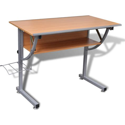 Drafting Table Storage Tiltable Drafting Table With Storage Shelf Rack Buy Drafting Tables