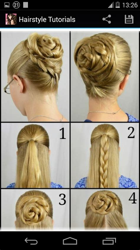 step to step hairstyles for medium hairs hairstyles step by step android apps on google play