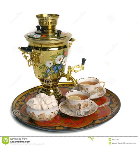 Retro Red Play Kitchen - russian samovar stock image image 34247361