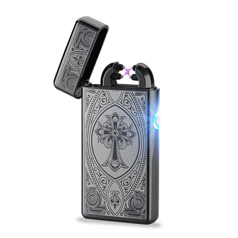 Usb Electric Lighter usb rechargeable electric arc lighters pulse slim