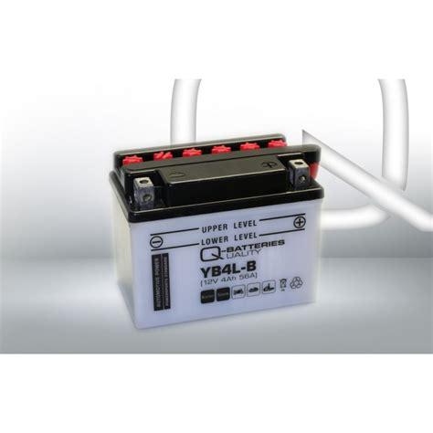 Batterie Motorrad by Q Batteries Motorrad Batterie Yb4l B 50411 12v 4ah 56a