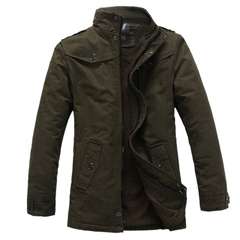 Buy Jackets Aliexpress Buy Mens Winter Jackets Thick Warm Cotton
