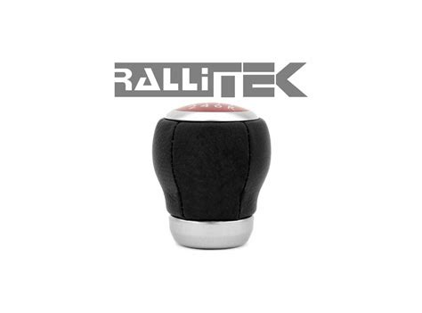 subaru oem sti leather shift knob 6mt rallitek