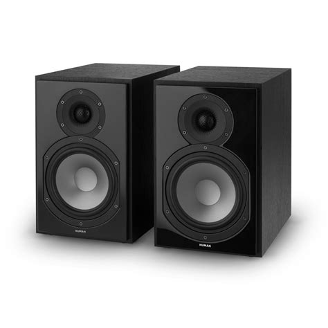 numan speakers pair compact shelf stereo hifi home theatre