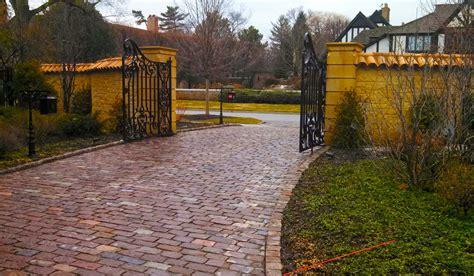 brick driveway driveways hirsch brick and