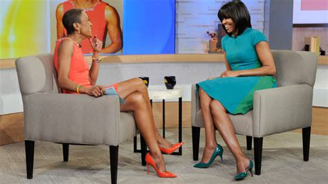 robin roberts michelle obama special first lady michelle obama tweets support for robin roberts
