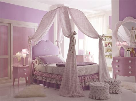 princess and fairy tale canopy bed concepts for little