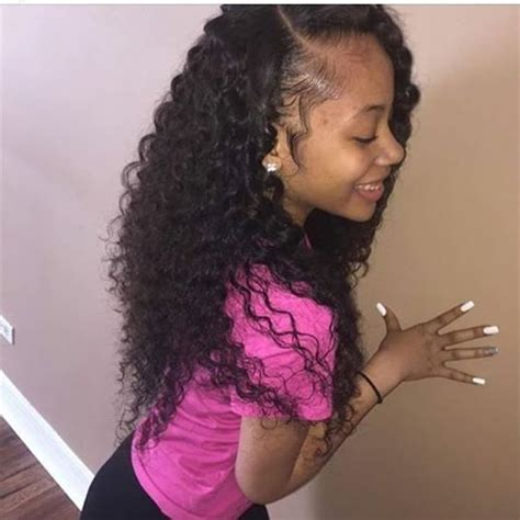 the best sew in human hair best 25 curly weave hairstyles ideas on pinterest