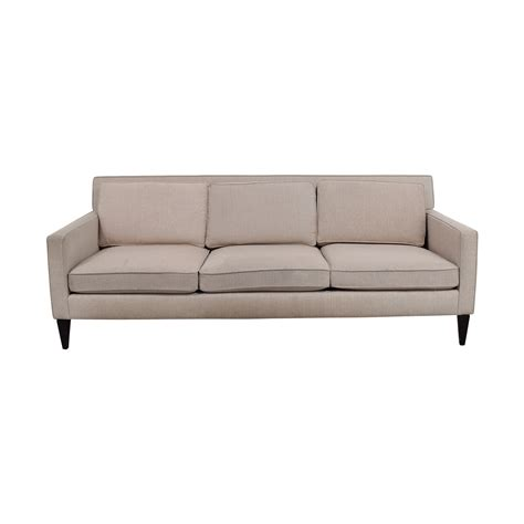 crate and barrel slipcover sofa three cushion sofas three cushion sofa slipcovers home and
