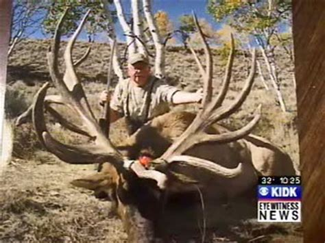 World Record Elk Sheds by Bags Potential World Record Elk Spider Bull