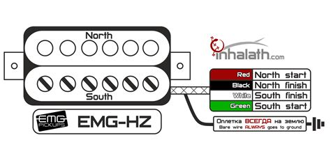 emg hz wiring diagram color hz free printable