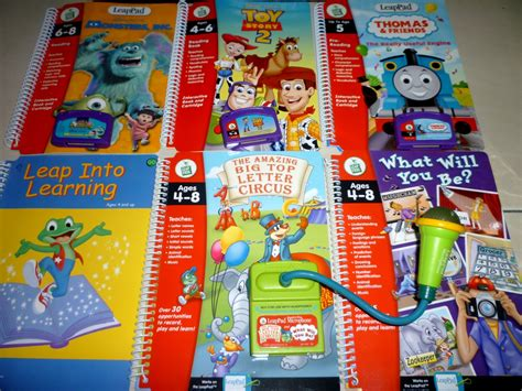 Leapfrog Leappad Learning Center Interactive Book Cartridge Phonic fp mania leapfrog leappad learning system