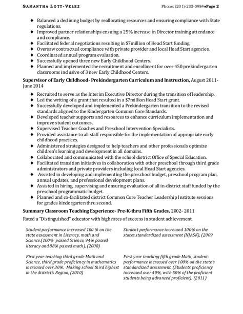 sle resume for educational leadership position education leadership resume