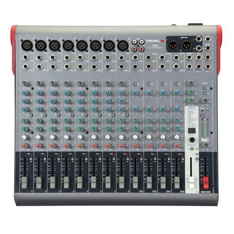 Mixer Proel Mi 10 Original mi16