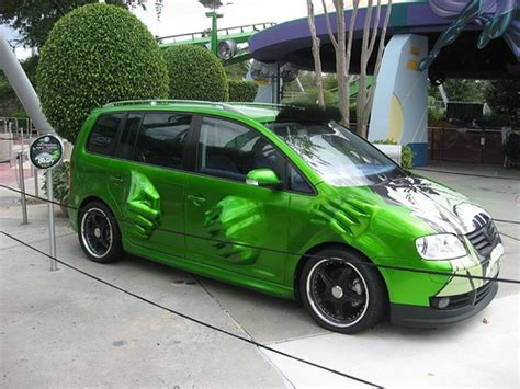 vw touran hulk special from the fast the furious