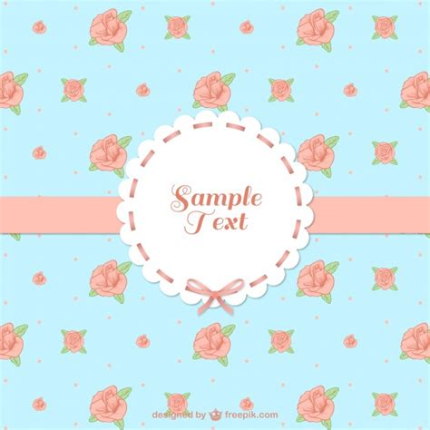 template undangan shabby chic shabby chic style vector free download