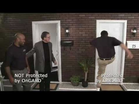 Prevent Front Door Kick In Security Door Brace Real Time Demo Of The Ongard Door Brace Not A Nightlock