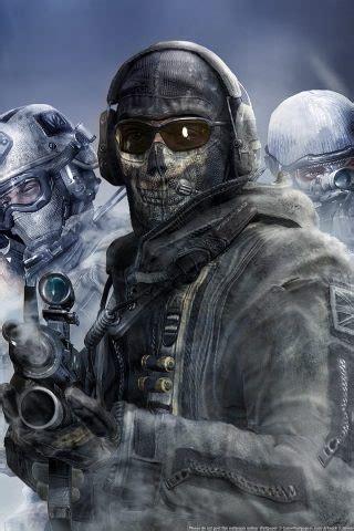 call  duty modern warfare  ghost  hd wallpaper