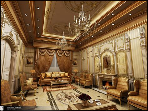 classic interior in ksa by amr maged on deviantart