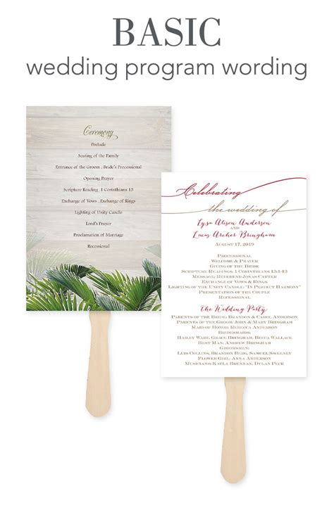 wedding word how to word your wedding programs invitations by