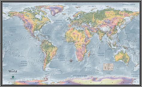 map world world topographical map topographic map of world elevation