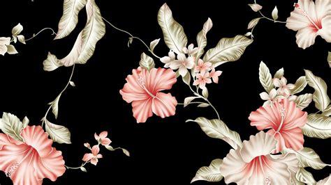 flower wallpaper macbook 1366x768 flower pattern desktop pc and mac wallpaper