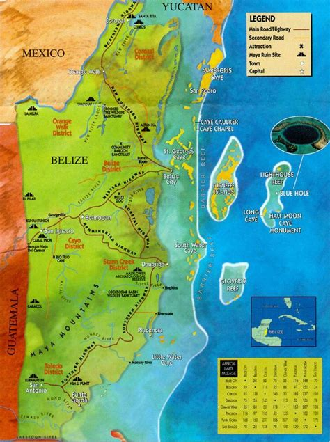 mayan ruins map 44 best images about maps on map of belize