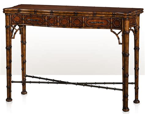 bamboo sofa table theodore alexander indochine 5300 138 the edwardian bamboo