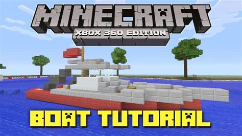 how to make a speed boat in minecraft pe how to make a working speed boat in minecraft no mods