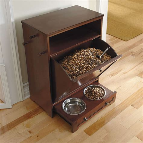pet feeding station cabinet must have grandin road pet feeder station bark meow