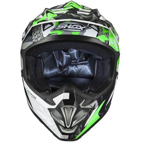 green motocross helmet shox mx 1 paradox black green motocross helmet mx